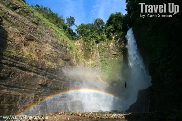 lake sebu cotabato philippines waterfall double rainbow