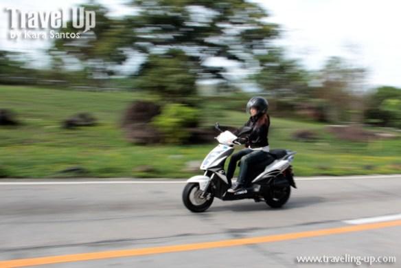 kymco agility 125 travelup 2