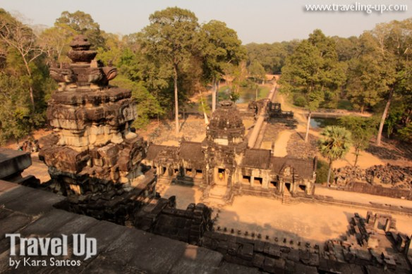 biking day 2 cambodia angkor archaeological park baphuon wide