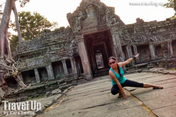 biking day 2 cambodia angkor archaeological park preah khan last