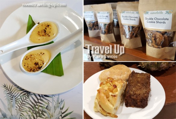 sisterfields by cravings tagaytay leche flan pineapple bread cookies