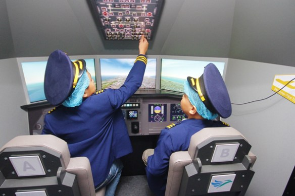 Kidzania Philippines Aviation Academy