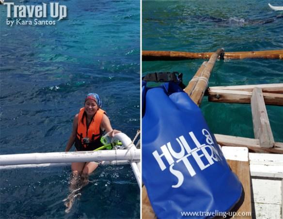 hull & stern dry bag butanding cebu