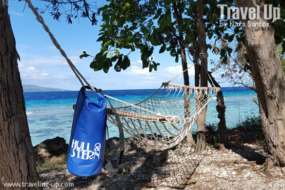 hull & stern dry bag hammock cebu