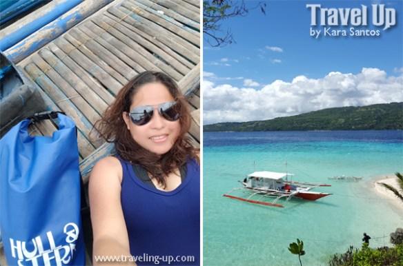 hull & stern dry bag travelup cebu bluewater