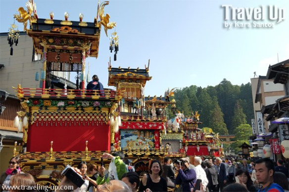 takayama autumn festival japan yatai floats people