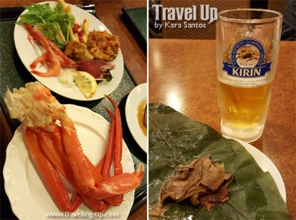 japan kirin crab claws hida beef