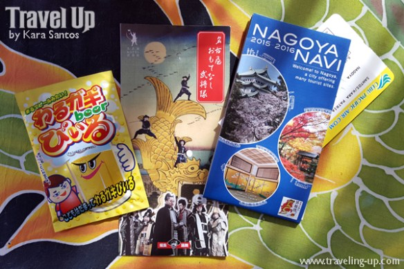 japan nagoya map powdered beer