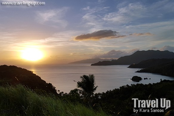 tugawe cove resort caramoan sunset lighthouse