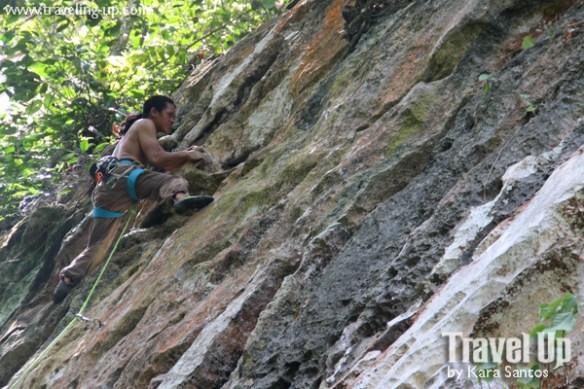 rock climbing cantabaco cebu climber