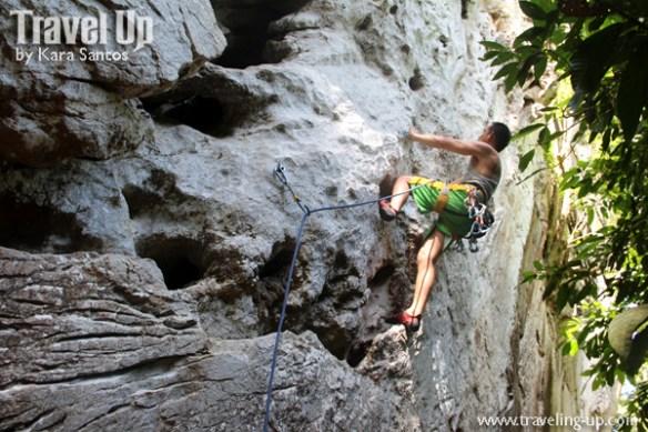 rock climbing cantabaco cebu gian leadclimb