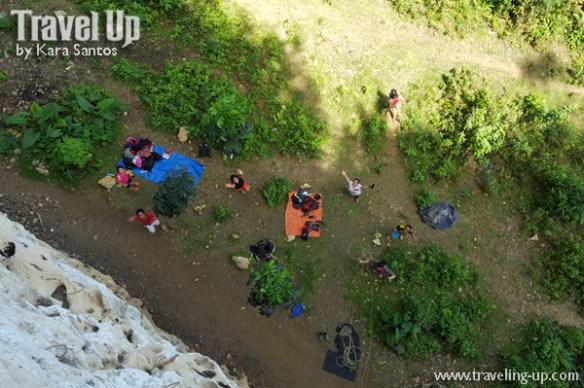 rock climbing poog cebu view from top