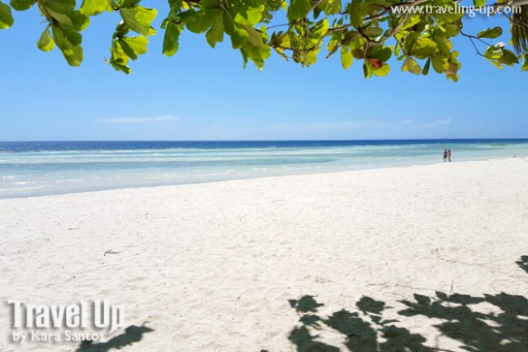 bohol by motorcycle anda white beach wide sand