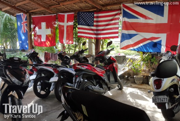 bohol by motorcycle hey joe motorbike rental baclayon