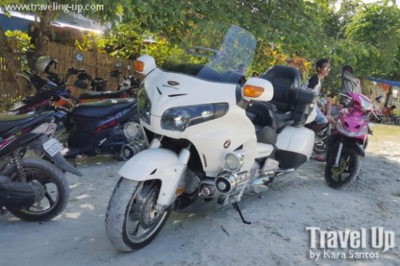 bohol by motorcycle honda goldwing touring motorcycle