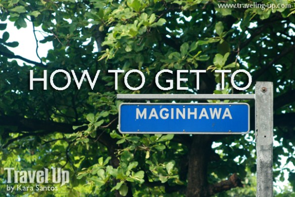how to get to maginhawa street sign