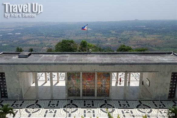 bataan shrine of valor museum flag