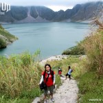 Hiking to Mt. Pinatubo