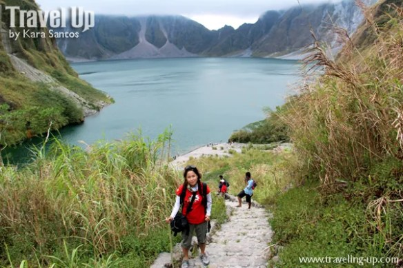 hiking mt. pinatubo crater lake travelup