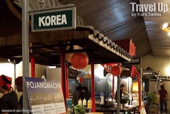 merkanto street food korean stall