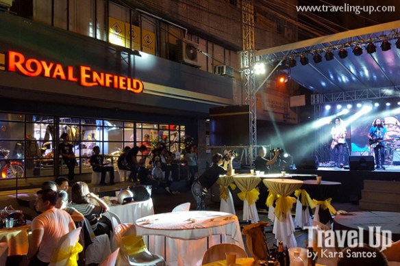 royal enfield manila store launch band