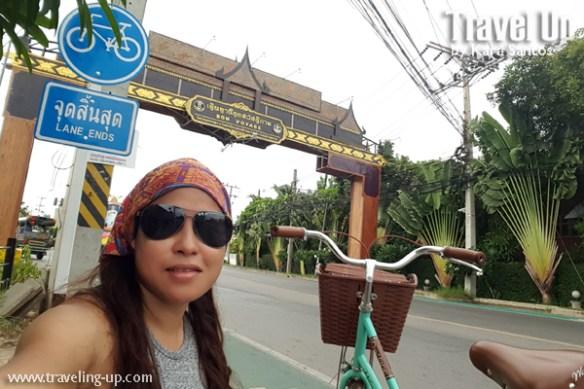 amphawa thailand bike lane arch