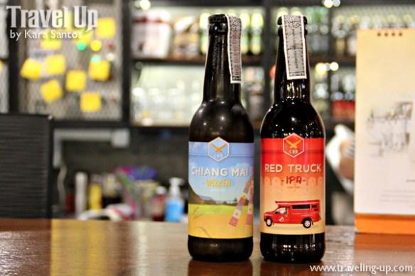 bangkok thailand craft beer chiang mai weizen red truck IPA