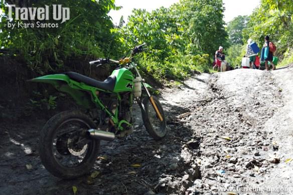 road to lake holon soutch cotabato steep motorcycle