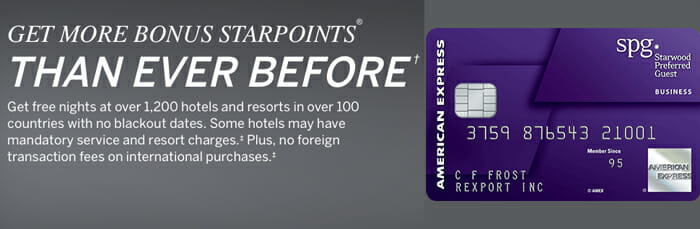 Get 35 000 Starpoints With The SPG AMEX & SPG AMEX