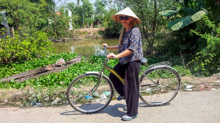Things to do in Vietnam: Mekong Delta Cycling