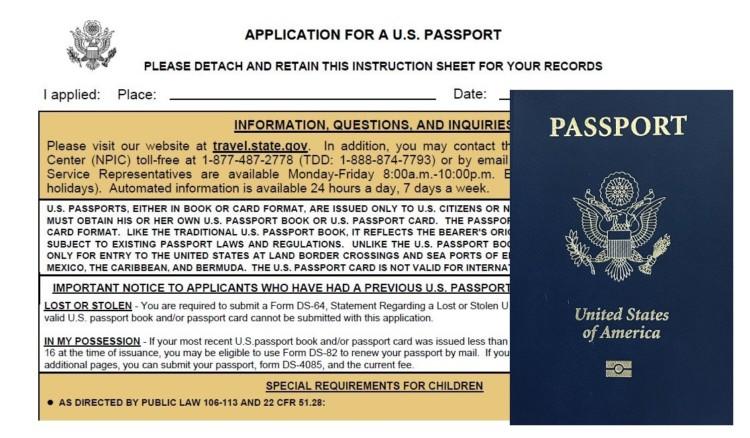 Tips for Passport Application Passports TravelingMom - lost passport form