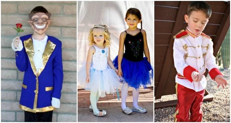 Super Easy Diy Disney Costumes For Preschoolers Travelingmom