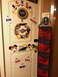 Door Decorations For Cruise  Review Home Decor