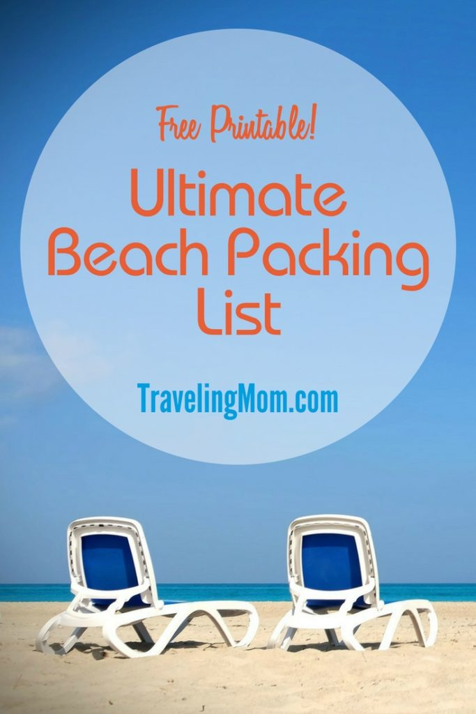 The Ultimate Family Beach Vacation Packing List (and Printable