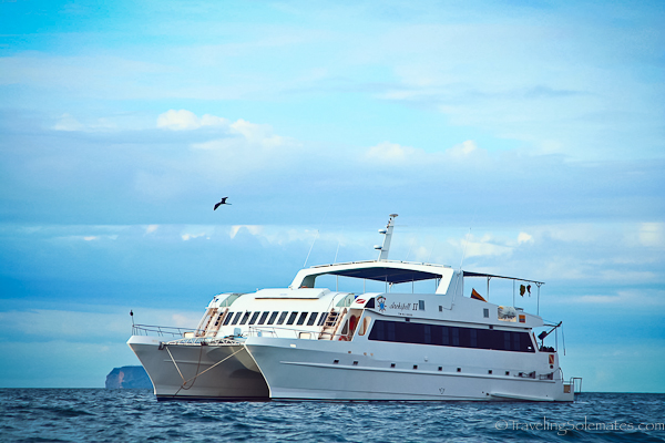 Yacht Archipell II in Galapagos Islands