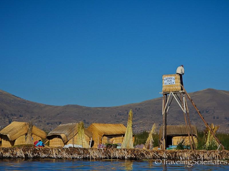Floating Island of the Uros, Lake Titicaca, Peru