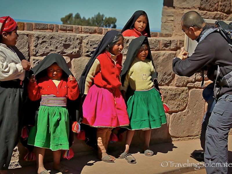 Magician on Taquile Island, Lake Titicaca, Peru