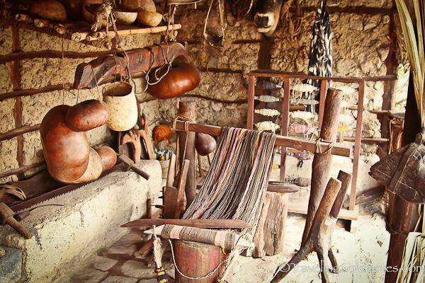 Exhibit in Inti Nan Museum