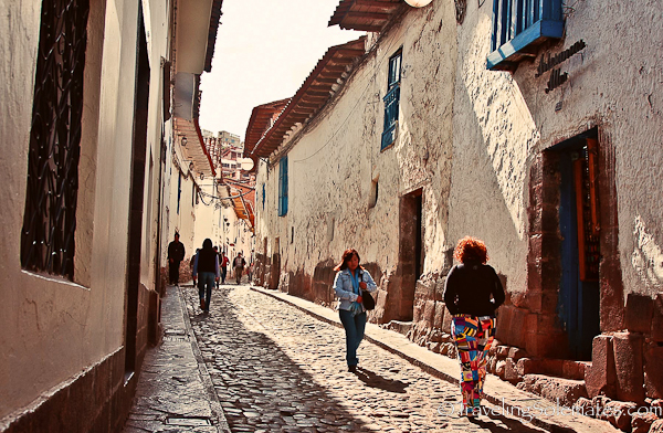 Cobbled Street of Cuzco