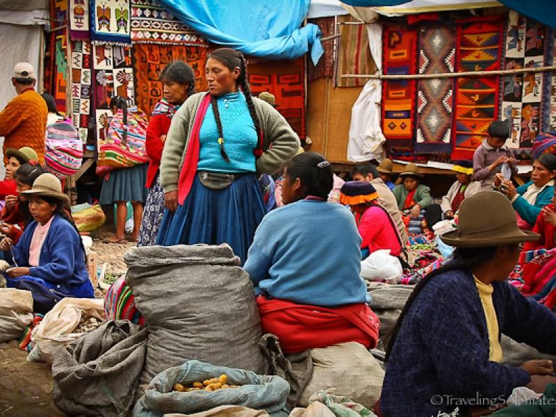 Verdors at Pisac Market Peru