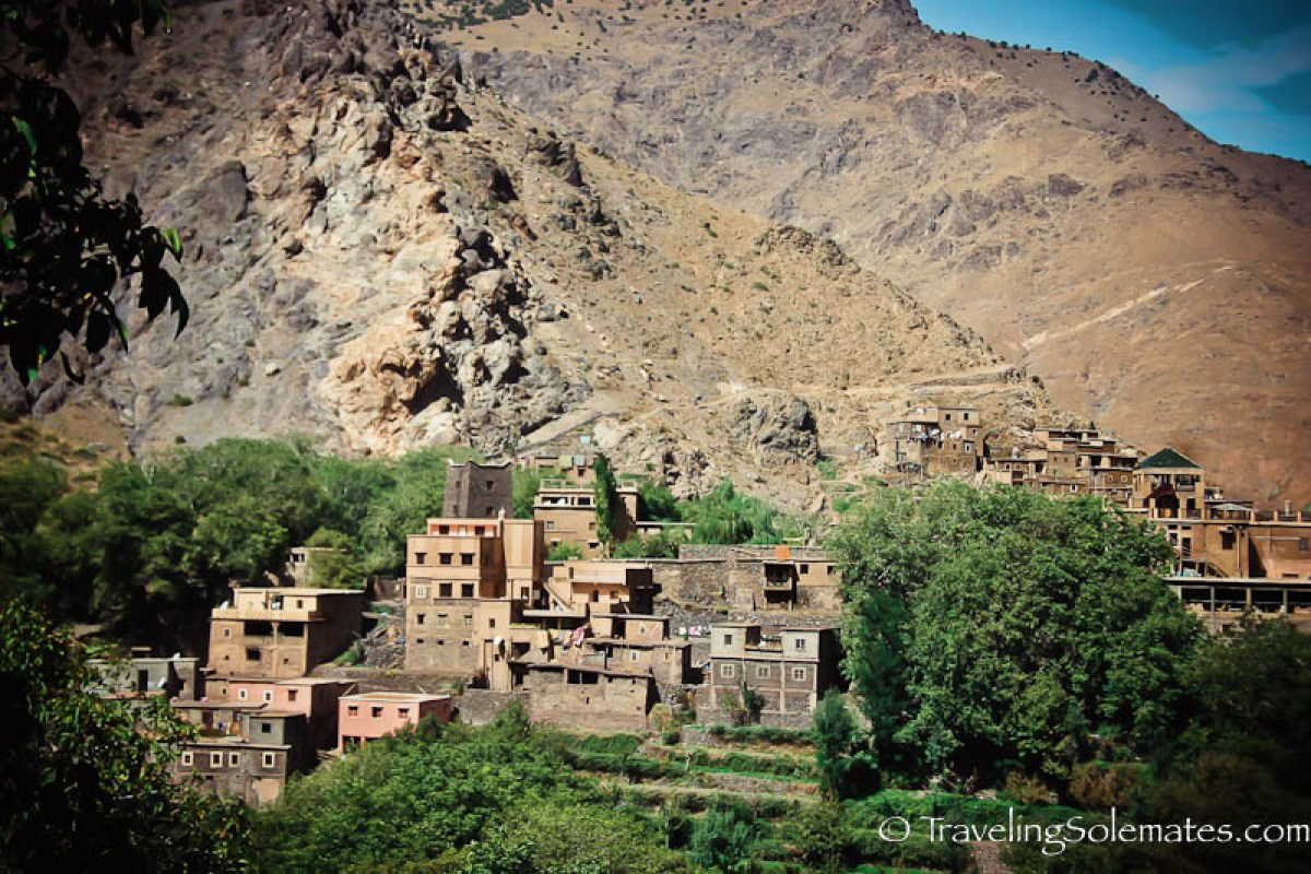 Hiking in the Villages of The High Atlas Mountain, Morocco