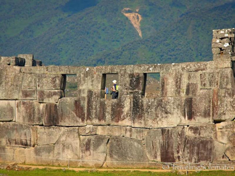 Temple of the three Windows in Machu Picchu