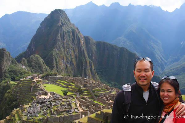 Traveling Solemates in Machu Picchu
