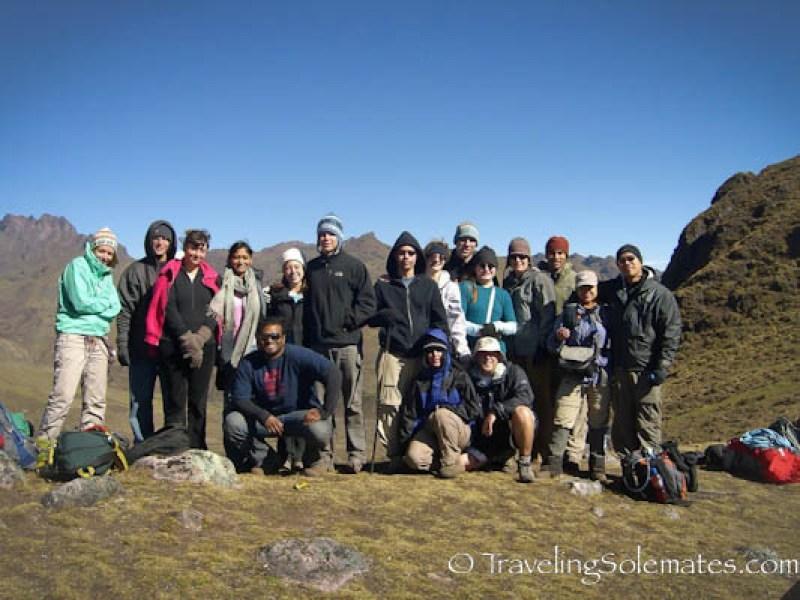 Trekking Group, Lares Valley Trek Peru