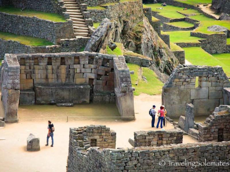 Sacred Plaza in Machu Picchu