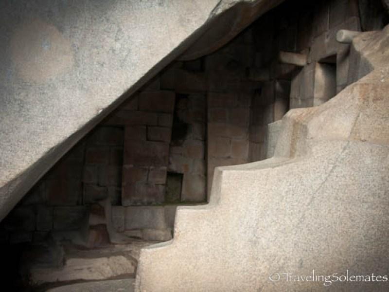 Royal Tomb in Machu Picchu