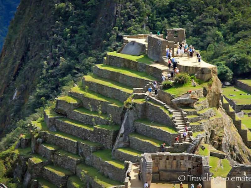 Intihuatana (Hitching of the Sun) in Machu Picchu
