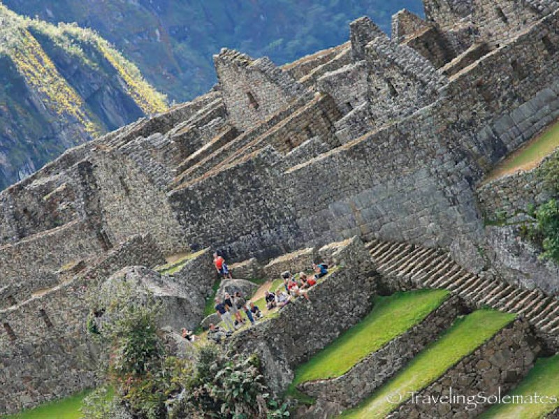 Residential and industrial area in Macchu Picchu