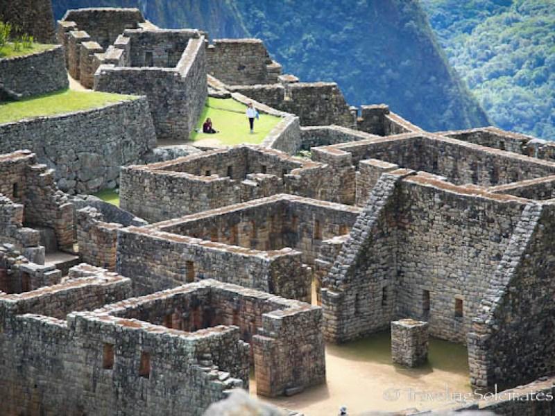 Ruins of Inca residence in Machu Picchu