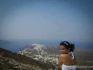 Hikitg to Oia, Santorini, Greece